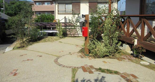 使いやすさを重視した駐車場の写真