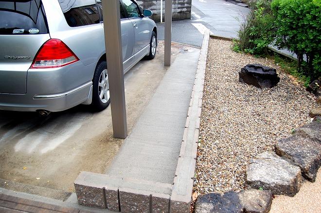 駐車場の使い勝手を改善の写真
