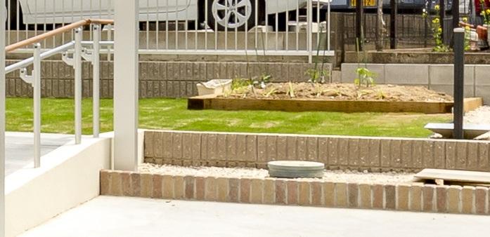 菜園スペースの写真