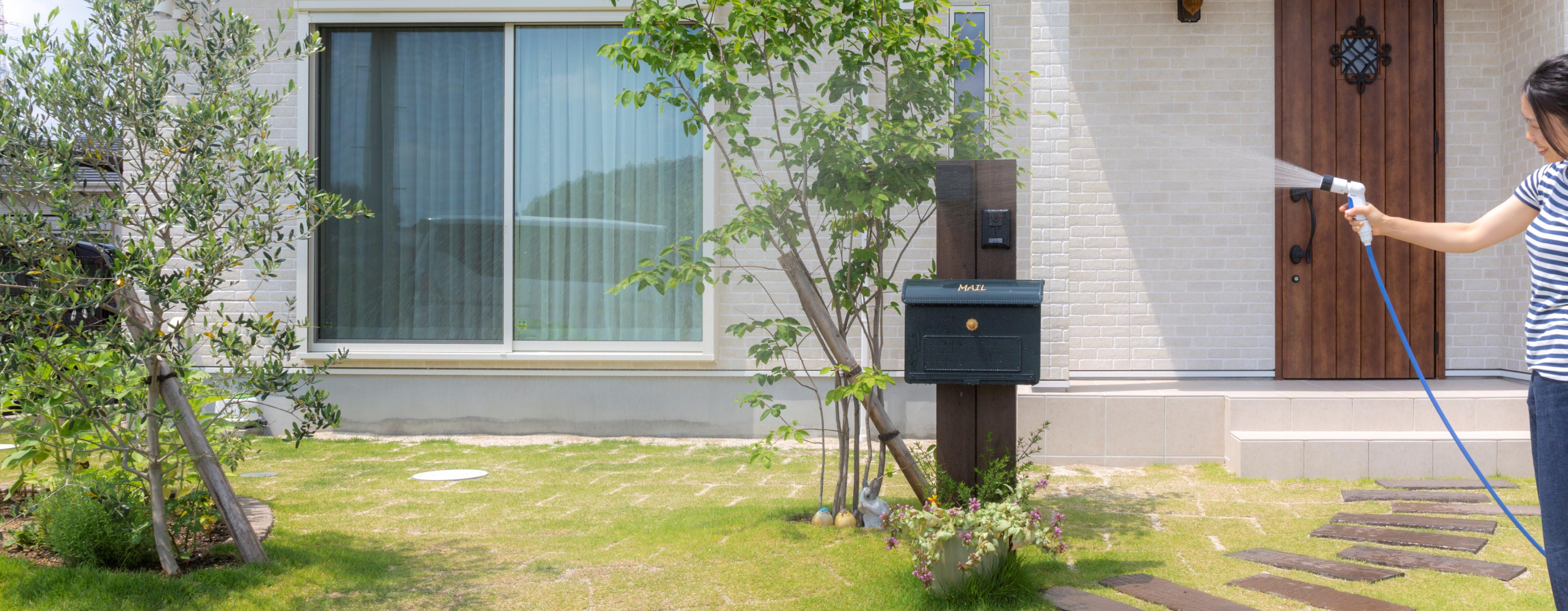 家庭菜園スペースの写真