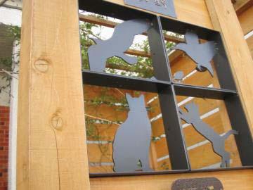 飾り窓の写真