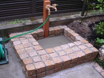 立水栓の写真