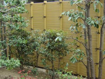 御簾垣(みすがき)の写真