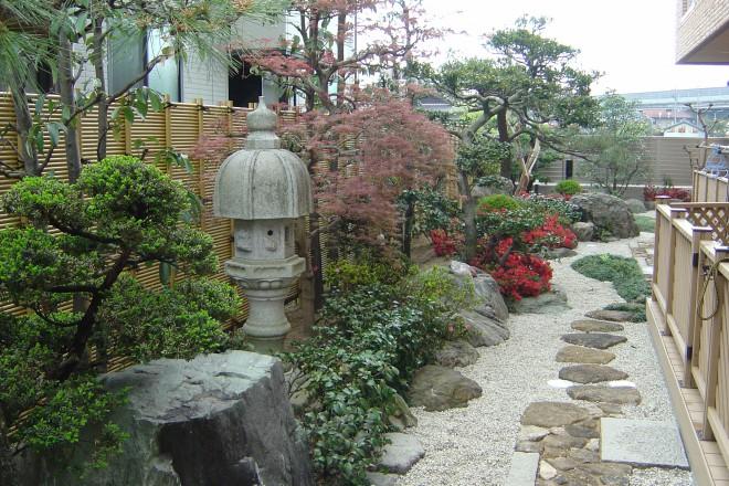 お庭のポイントの写真