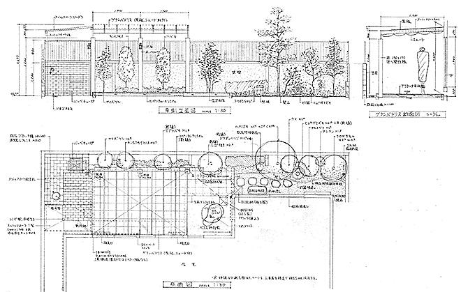 提案図面の写真